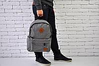 Рюкзак городской Converse серый реплика