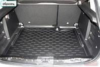 Коврик в багажник для Skoda Superb с 2008-, кузов: универсал, цвет: черный