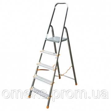 Стремянка алюминиевая ITOSS HOBBY 3916 - 6 ступеней. BPS