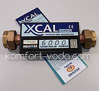 """Магнитный преобразователь воды XCAL 6000 60.000Gauss, 6000 л/час, 1 1/4"""""""