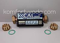 """Магнитный преобразователь воды XCAL 6000 60.000Gauss, 6000 л/час, 1"""""""