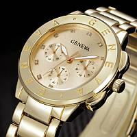 Наручные часы Geneva Gold унисекс, фото 1