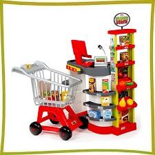 Детские игровые супермаркеты, магазины, кассы,тележки