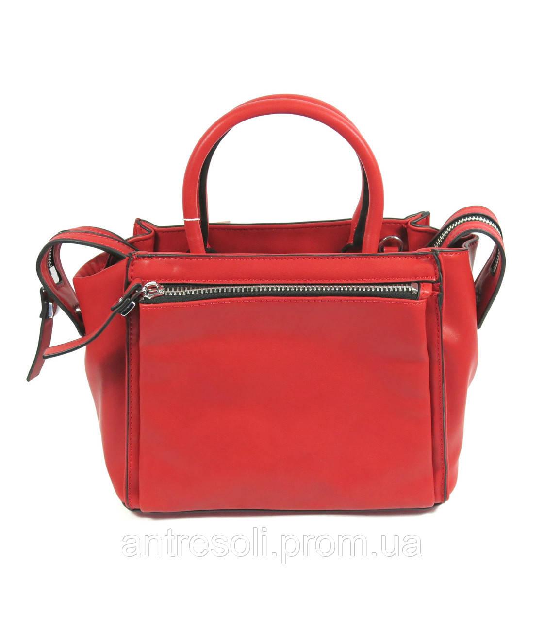 Красная женская сумка маленькая