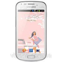 Бронированная защитная пленка на экран для Samsung Galaxy Core Duos (La Fleur)