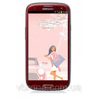 Бронированная защитная пленка на экран для Samsung Galaxy S4 Mini Duos (La Fleur)