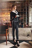 Стильный брючный костюм По бокам кармашки Модель 165  РКК
