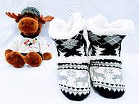 Тапочки комнатные, мягкие, теплые - домашние угги 35-38