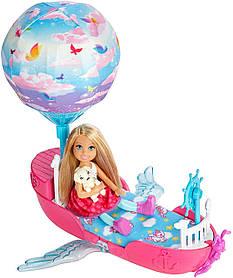 Кукла Барби Дримтопия Челси и сказочный корабль Barbie Chelsea Dreamtopia Vehicle
