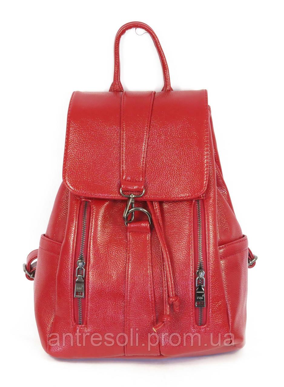 Рюкзак женский красного повседневный