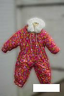 Детский, зимний комбинезон - трансформер (человечек-конверт) от 0 до 1,5 год,на овчине в разных цветах