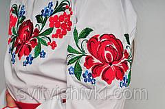 Яркая вышитая блуза для девочки с уникальным орнаментом, фото 3