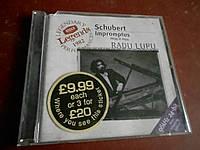 Schubert Impromptus D899 & D935 CD фирменный б/у