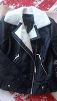 Женская утепленная куртка косуха Newlook в наличии  ХS S М, фото 1
