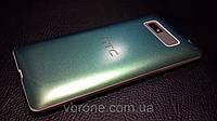 Декоративная защитная пленка для HTC Desire 600 хаммелион зеленный