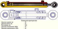 Гидроцилиндр ГЦ-50.25.320.0.25.00