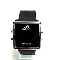 Adidas LED электронные часы Черный