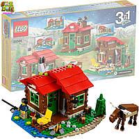 Конструктор Лего оригинал Creator Домик на берегу озера  LEGO Creator Lakeside Lodge 31048