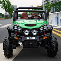Детский электромобиль JEEP 4x4 UTV на EVA