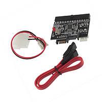 Двусторонний переходник адаптер SATA-IDE/IDE-SATA для жестких дисков ПК (винчестеров)