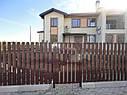 Металлический штакетный забор (евроштакетник), фото 3