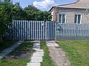 Металлический штакетный забор (евроштакетник), фото 6