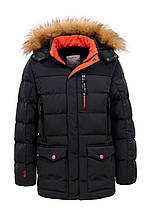 Удлиненная зимняя курточка для мальчика Glo-story