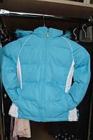 Зимняя термокуртка для девочки 6 лет