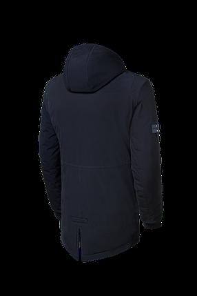 """Мужская черная зимняя куртка с капюшоном Braggart """"Black Diamond""""  (р. 46-56) арт. 4050 А, фото 2"""