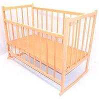 Ліжечко-гойдалка дерев'яна №3