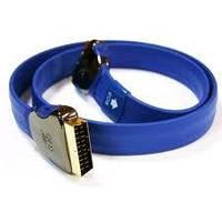 QED P4110 кабель SCART 1м, фото 1