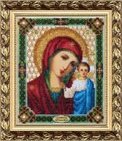 Набор для вышивки бисером Б-1002 Икона Божьей Матери Казанская