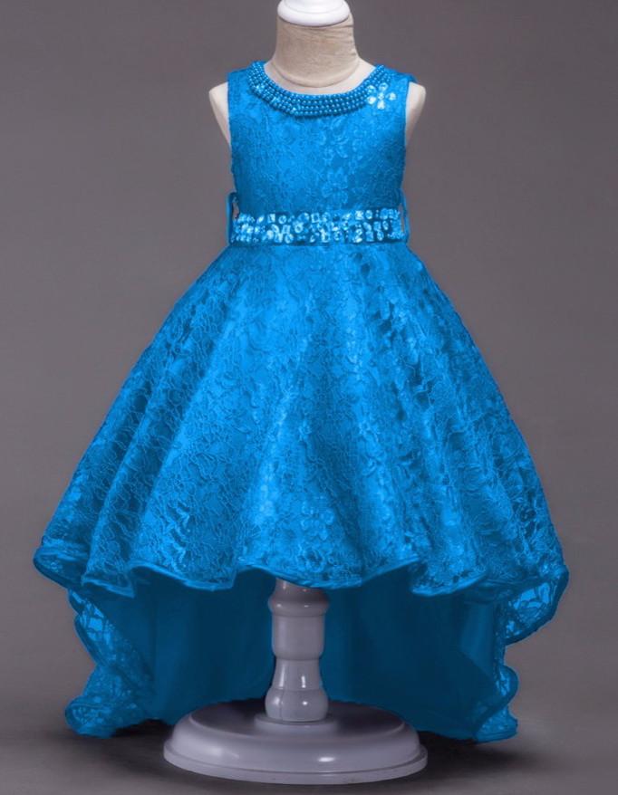 Платье вечернее, бальное детское