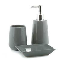 Набор керамический для ванной 3 предмета 002BR/COOL GREY