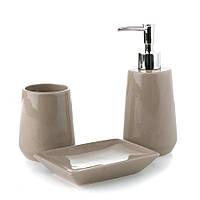 Набор керамический для ванной 3 предмета 002BR/WARM GREY