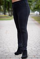 Штани зимові з високою посадкою для пишних жінок, з 48 по 74 розмір, фото 1