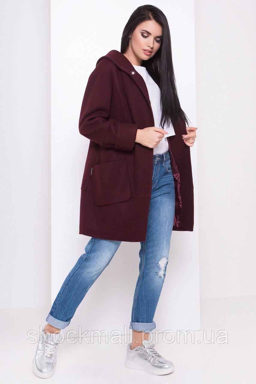 1643b525937 Купить Пальто осеннее на поясе с капюшоном