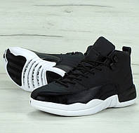 ffe387fd Мужские кроссовки Nike Air Jordan Retro 12 Black/white. Живое фото. Топ  качество