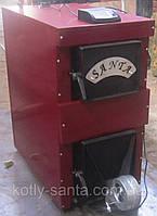 Напольный котел на дровах  Santa 25кВт без автоматики