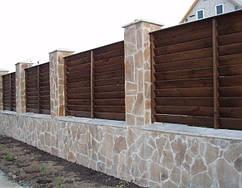 Деревянные заборы для загородного дома