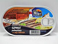 Шпроты в масле Szprot  Kier Польша 170г