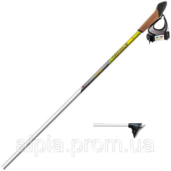Профессиональные лыжные палки Vipole Cross Country Pro Click-In 145