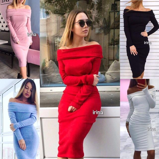 Женские платья миди