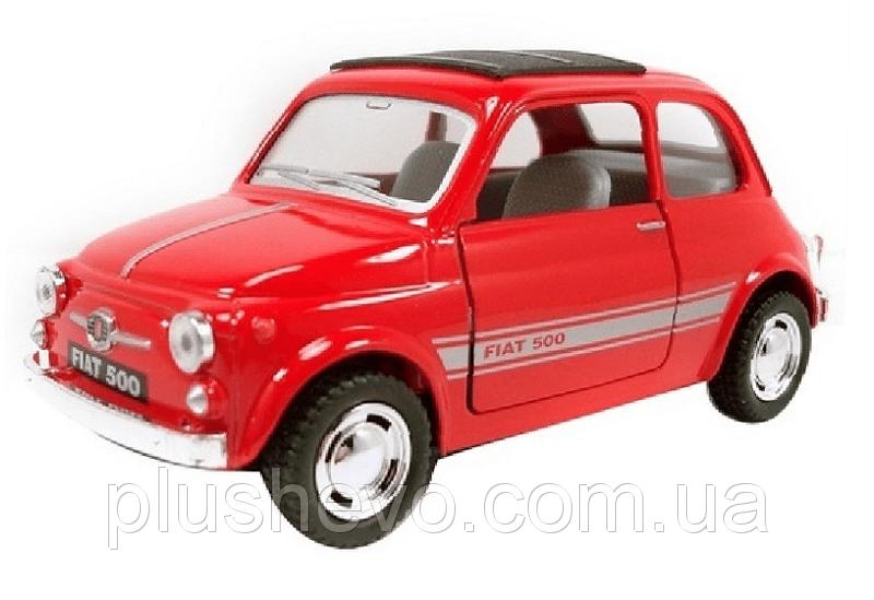 Металлическая модель kinsmart FIAT 500