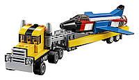 LEGO Creator Airshow Aces оригинал 3 в 1 Большой выбор комбинаций самолетов и машин Лего  31060