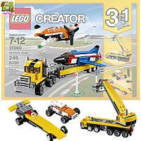 LEGO оригинал 3 в 1 Большой выбор комбинаций самолетов и машин Лего LEGO Creator Airshow Aces 31060