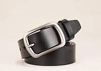 Ремень мужской кожаный классический LFMB модель 1 (черный)