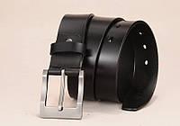 Ремень мужской кожаный классический LFMB модель 2 (черный)