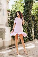 Платье женское SALE!!! Только розовый цвет Модель 1083  (ДМК)
