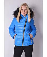 Куртка Наоми голубой темный р. 54;50;52